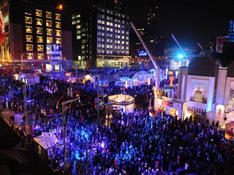 Montreal en lumiere crowd