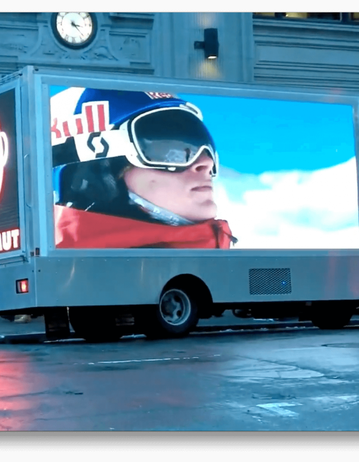 Mobile LED Video Ad Truck - Outdoor Media Works