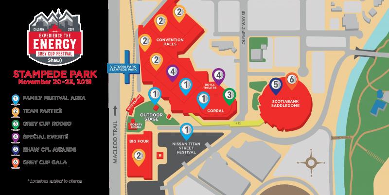 grey cup festival 2019 stampede park map