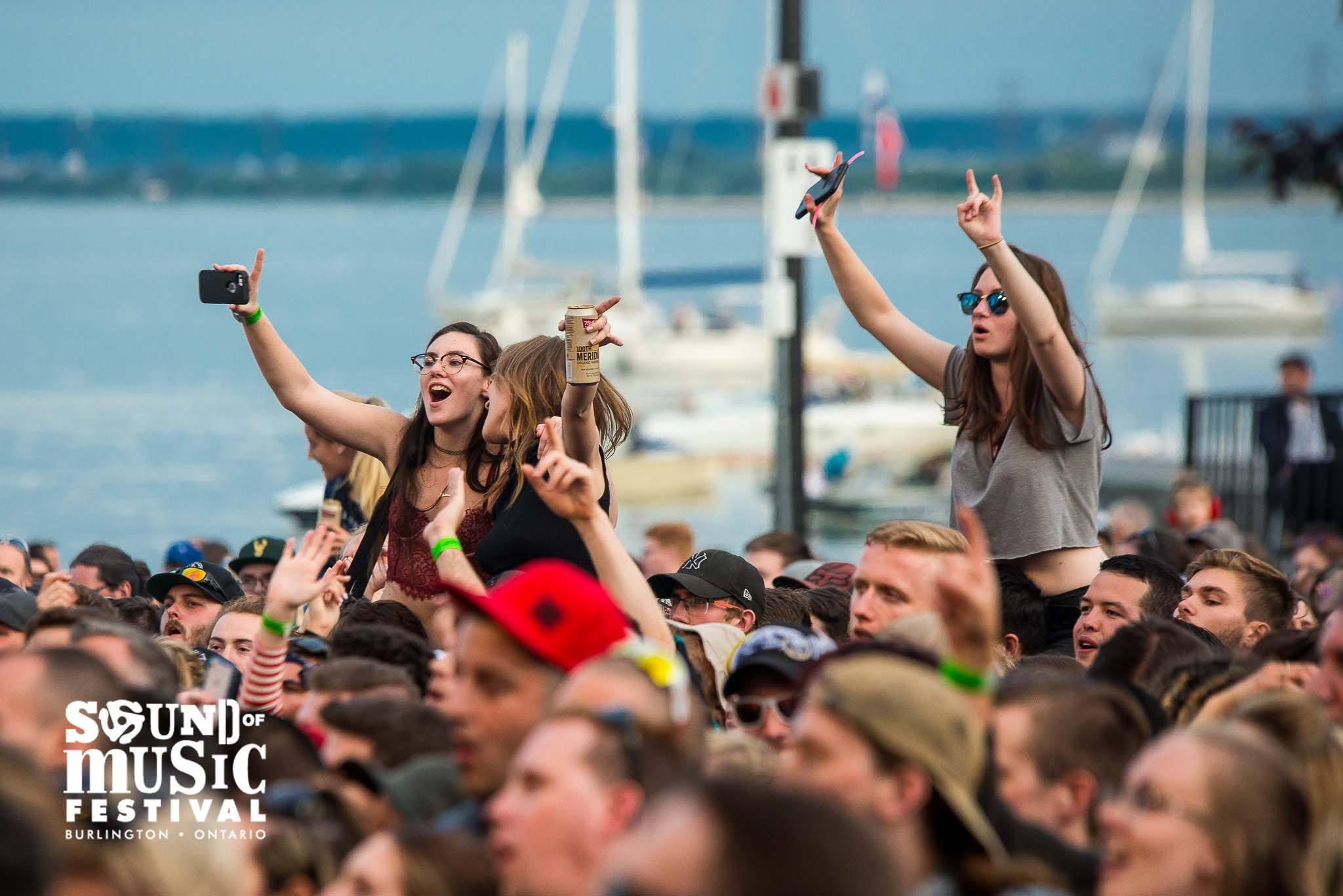 Crowd at Burlington Sound of Music Festival Concert